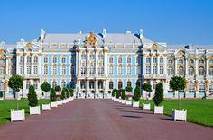 summer view of Catherine Palace, St. Petersburg, Russia by Alexandra Budzinskaya on 500px