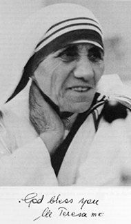 "Words to live by: ""If you judge people, you have no time to love them."" ~Mother Teresa~"