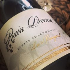 Rain Dance Vineyards 2016 Lee's Vineyard Estate Chardonnay Inspires a Perfect Food and Wine Pairing