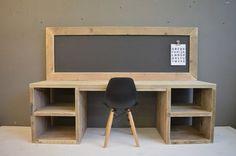 Steigerhouten speeltafel Ollie Diy Furniture Decor, L Shaped Desk, Desk Plans, Home Office Desks, Working Area, New Room, Kids Bedroom, Playroom, Diy Projects