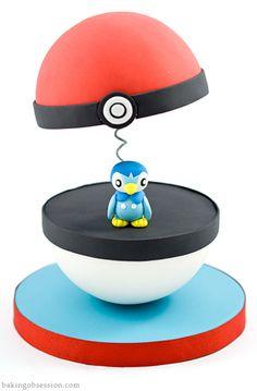 Pokemon Piplup Cake