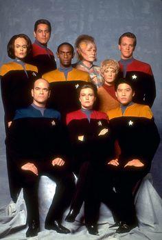 Star Trek Deep Space Nine crew/ cast | home publicity photos by character cast photos cast photos