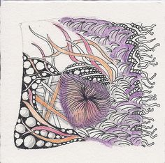 Color Zentangle by jtheurkauf on Flickr