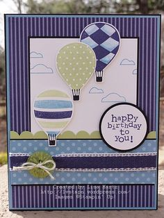 Stampin' Up! SU by Lisa Martz, Beautiful card and colours