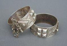 Morocco - Berber hinged bracelets