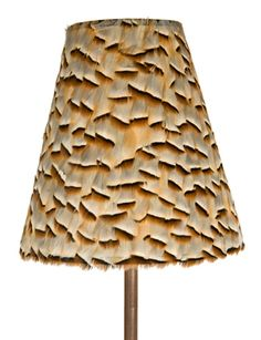 PARTRIDGE FEATHER SHADE, Antiques by Design