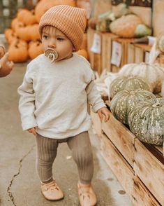 and pumpkins. Just teacher her the basic girl basics. Leggings and pumpkins. Just teacher her the basic girl basics. baby Leggings and pumpkins. Just teacher her the basic girl basics. Baby Girl Fashion, Fashion Kids, Toddler Fashion, Toddler Outfits, Baby Boy Outfits, Children Outfits, Fall Fashion, Fall Outfits, Casual Outfits