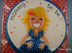 mommy to be cake