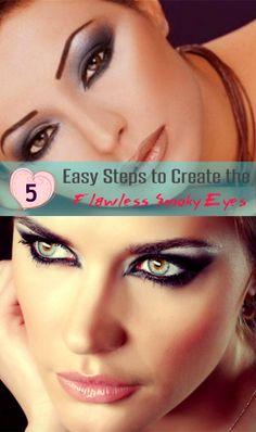 5 #Easy #Steps to Create the Flawless #Smoky #Eyes #SmokyEyes #Makeup #Tips #How to get Smokyeyes