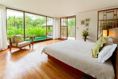 The Sarojin Garden Residence offers peaceful serenity.
