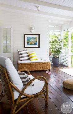 Foliage provides a resort-style backdrop for lounging, while cool breezes whisper through plantation shutters.