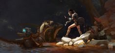 ArtStation - Kan Liu(666K信譞)'s submission on The Journey - 2D Character Art Challenge