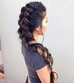 Fish tail braid♥