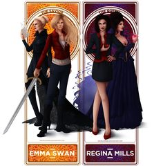 """giraffes-ride-swordfishes: """"Regina Mills & Emma Swan / Swan QueenYou can purchase this work here (poster, stikers, mug…) . These two characters are can be found separately : Regina and Emma Find the other characters and the others ships here (work in. Regina Ouat, Regina And Emma, Once Up A Time, Cute Lesbian Couples, Swan Queen, Regina Mills, This Is Us Quotes, Emma Swan, Best Tv Shows"""