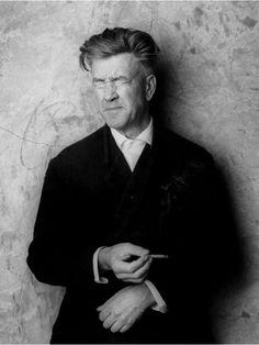 David Lynch - I'm gonna style my husband's hair like David Lynch when he's old.