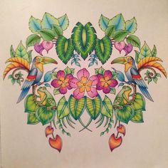#magicaljungle #johannabasford #coloringforadults #mycreativeescape…