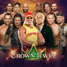 Drew McIntyre rounds out the Team Flair crew, so are you riding with Ric Flair, The Nature Boy or Team Hogan at WWE Crown Jewel? Men's Wrestling, Watch Wrestling, Wwe Facts, Ric Flair, Drew Mcintyre, Celebrity Biographies, Eva Marie, Roman Reigns, Crown Jewels
