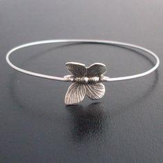Cute Butterfly Bracelet Butterfly Jewelry by FrostedWillow on Etsy, $16.95