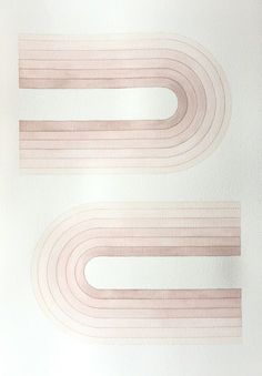 Gentle modernist design by Audrey Bodisco, 2016 Art Design, Graphic Design, Pink Design, Tag Art, Textures Patterns, Print Patterns, Modern Art, Contemporary Art, Graffiti