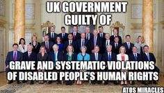 UK government guilty of grave and systematic violations of disabled people's human rights