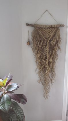 "Macrame Wall Hanging - ""Natural"""