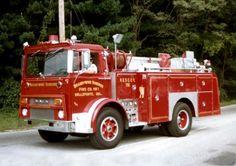 1974 Mack/Hawn Heavy Rescue Squad..