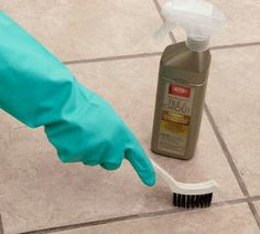 How to Clean and Seal Grout and other great cleaning tips!