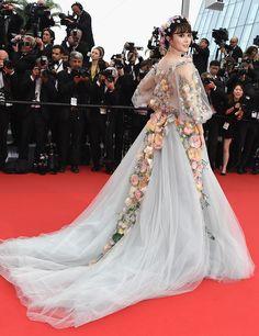 | ClioMakeUp Blog / Tutto su Trucco, Bellezza e Makeup ;) » Lookspotting: Fan Bingbing al Festival di Cannes 2015