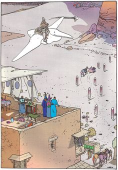 "Moebius - ""Montrouge Mystery"" 2001 Illustration 8 Stardom edition"