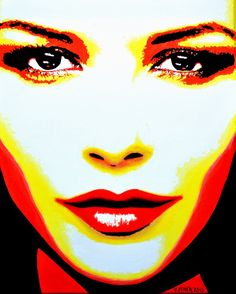 Catherine Zeta Jones Original Limited Signed Edition Art Prints are available for $ 35.  www.victorminca.com