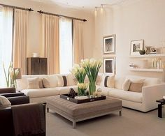 My Dream Living Room! Someday When I Have · Neutral Living RoomsInterior ...