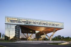 Suburban Sprawl Never Looked So Good: KPF Transforms Bland Office Park Into Beacon Of Sustainable Design - Architizer
