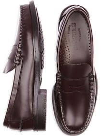 Sebago Burgundy Penny Loafers
