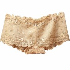 2 Pair Women Lace Panties Lingerie Cotton Underwear