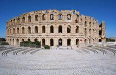 Ell Jem Amphitheater - Arnaldo Vescovo: Archaeological Tunisia