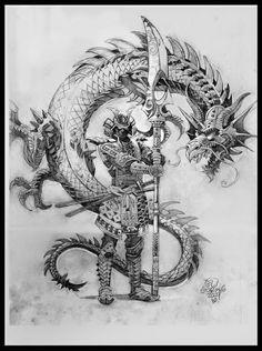samurai dragon - Buscar con Google