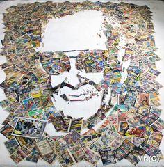 Les créations en anamorphose de l'artiste brésilienChristian Pierini, aka Mister C, qui recrée des portraits de stars et de célébritésen assemblant de 3d Portrait, City Photo, Objects, Christian, Cool Stuff, Illustration, Crafts, Type 3, Instruments