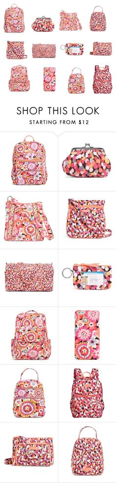 """Vera Bradley pixie blooms and pixie confetti"" by reaganlucas2003 ❤ liked on Polyvore featuring mode en Vera Bradley"