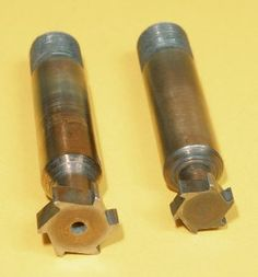 T-Slot Cutters by Harold Hall -- Homemade 12mm and 16mm T-slot cutters machined from silver steel. Cutters were hardened and tempered. http://www.homemadetools.net/homemade-t-slot-cutters-2