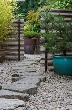 21 Japanese Style Garden Design Ideas: Small Japanese Garden Style Courtyard With Clever Use Of Asian Garden, Japanese Garden Style, Japanese Gardens, Japanese Garden Backyard, Japanese Design, Asian Design, Japanese Garden Landscape, Japanese Fence, Zen Rock Garden