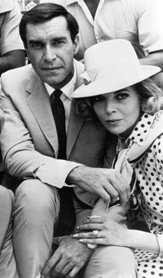 """Martin Landau and Barbara Bain, both starred in """"Mission Impossible"""" (TV) and were married from 1957 to 1993."""
