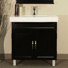 Bellaterra Home 203131-B Single Sink Bathroom Vanity - ATG Stores