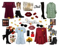 """""""Fall/Autumn"""" by kkristenlove on Polyvore featuring Alexander Wang, River Island, MAC Cosmetics, Lime Crime, Marc Jacobs and NARS Cosmetics"""