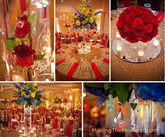 "From Making the Moment ""Saira's wonderful reception at the Shaker Heights Country Club"""