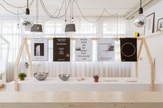Pop-up store Design Incubator, bureau sacha von der potter, 2013, exhibition design and graphic design ©B.Coulon