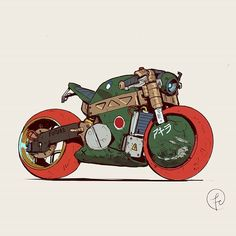 Cyberpunk motorcycle concept art artworks new Ideas Futuristic Motorcycle, Motorcycle Art, Futuristic Cars, Motorcycle Design, Bike Art, Armes Futures, Concept Motorcycles, Car Drawings, Automotive Art