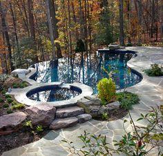 Stuart Mill Master Plan Residence traditional-pool