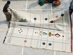 Rabari Rug Collection by Doshi Levien for Nanimarquina   Yellowtrace