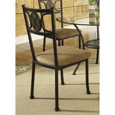 Greyson Living Celine Gunmetal and Beige-upholstered Side Chairs (Set of 4)