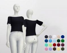Basic T-shirt F V3 (20 colors) at Rusty Nail